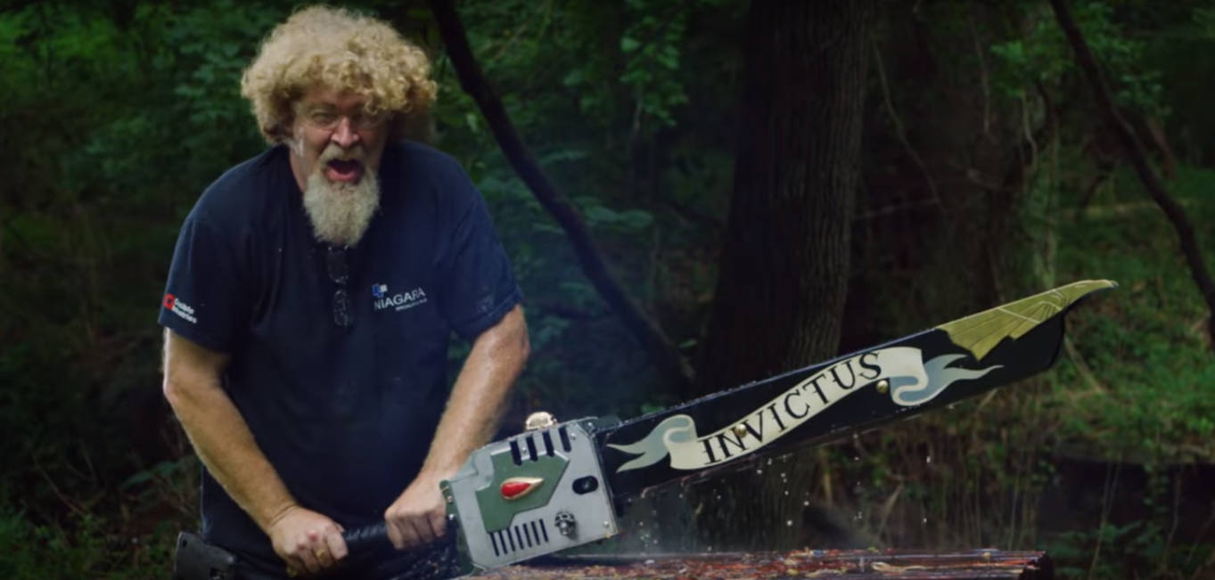 Man At Arms Forge The Legendary Warhammer 40k Chainsword
