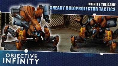 Objective Infinity: Sneaky Holoprojector Tactics