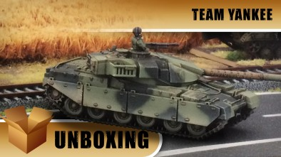 Team Yankee Unboxing: Charlie's Chieftains