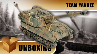 Team Yankee Unboxing: M109 Field Artillery Battery