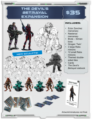 The Devil's Betrayal Expansion
