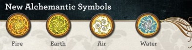 Twisted alchemantic tokens