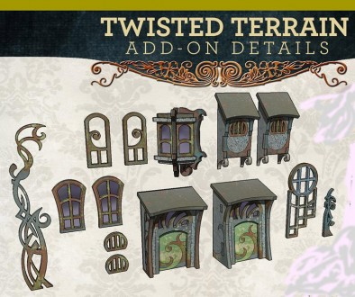 Twisted terrain add ons