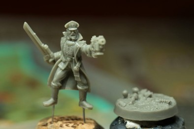 28mm Commissar Tchaikov #2