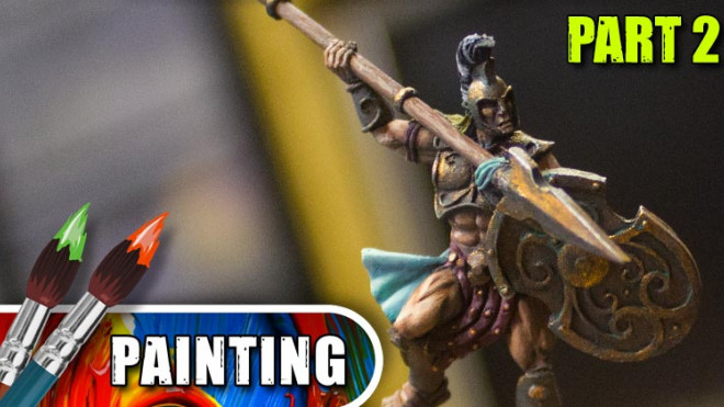 3 Colours Up – Painting Mythic Battles: Pantheon's Achilles Part Two