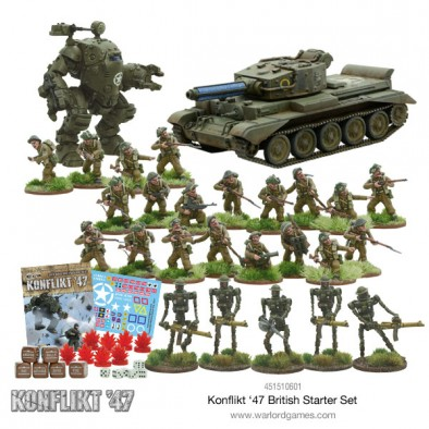 British Army Starter Set (Models)