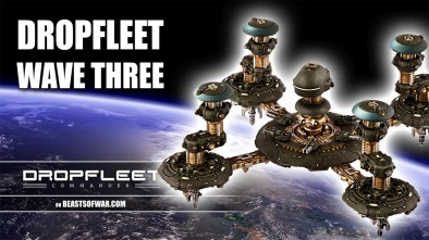 Dropfleet Comander: Wave Three Unboxing - Space Stations