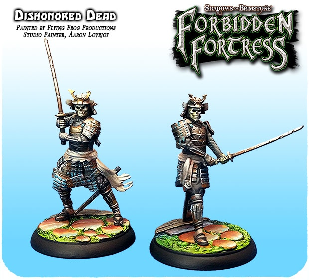 See Stunning Painted Minis From Flying Frog's Forbidden