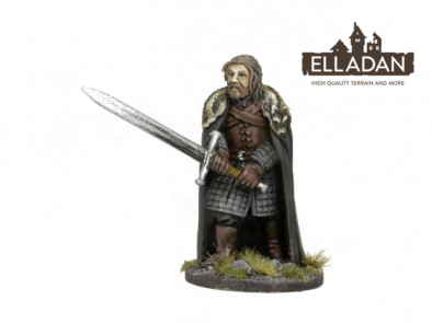Hero Of The North With Long Sword