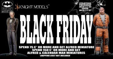 Knight Models Black Friday