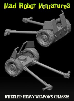 MR wheeled weapons