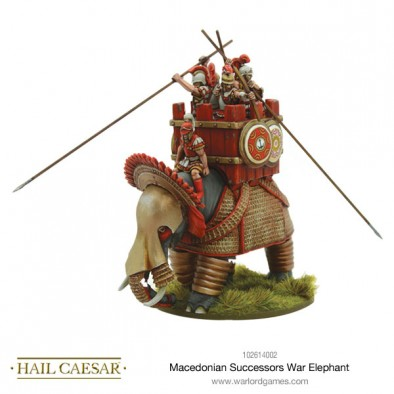 Macedonian War Elephant #1