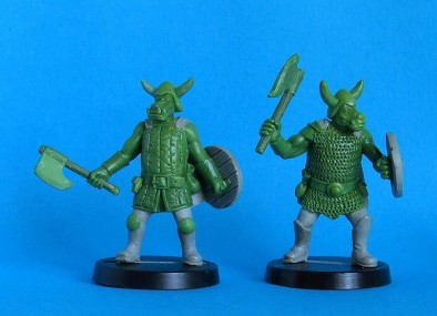 Pig Orcs (Hand Weapons)