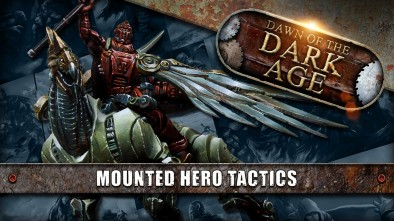 Dawn Of The Dark Age: Forsaken VS Outcasts - Mounted Hero Tactics