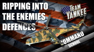 Team Yankee Command School: Ripping Into The Enemies Defences