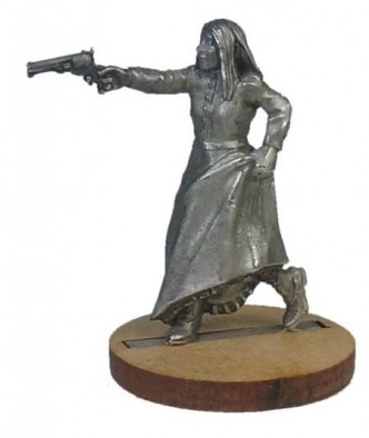 Woman With Pistol