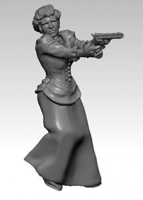 Woman With Smith And Wesson