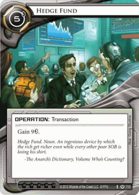 A typical trading card