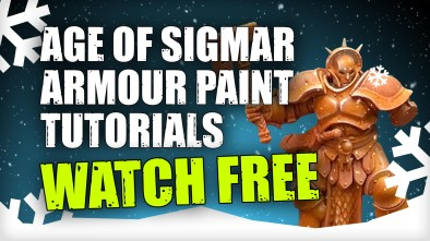 3 Colours Up: Romain's Age Of Sigmar Armour Painting Bundle