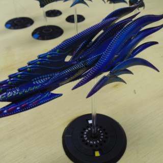 Checking Out Rob's Painted Scourge Fleet