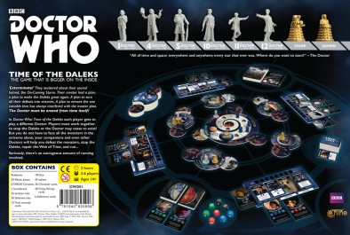 Doctor Who Time Of The Daleks (Rear)