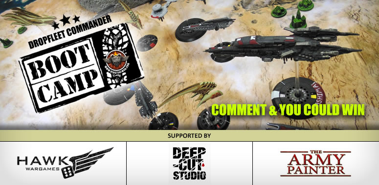 Dropfleet Commander Boot Camp – Saturday