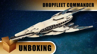 Dropfleet Commander Unboxing: PHR Battleship