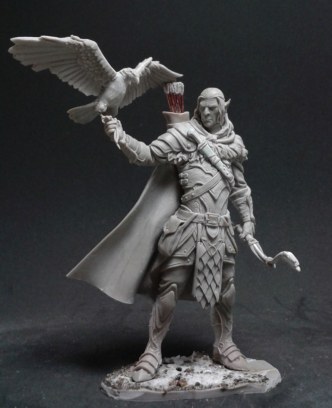 Black Sun Miniatures' Erynor Goes Hunting In 75mm Scale – OnTableTop