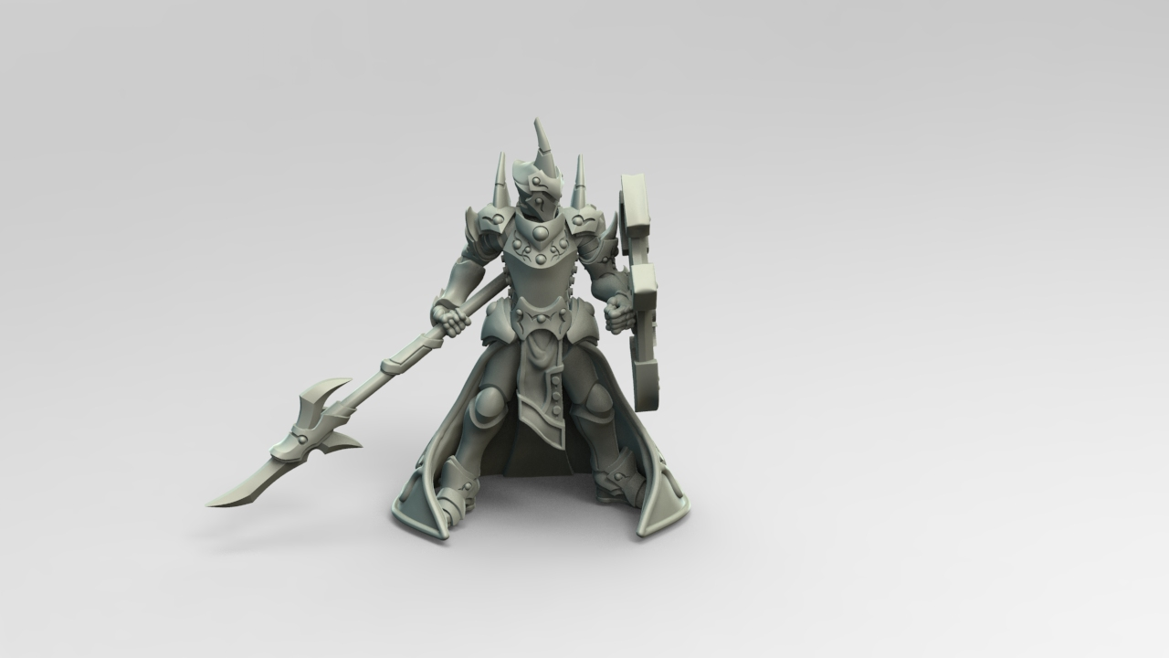A Guardian Stands Tall & Fane Knights Take Shape For Warmachine