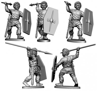 Gallic Infantry #1