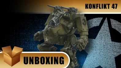 Konflikt '47 Unboxing: US Mudskipper Jump Walker