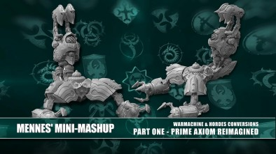 Mennes' Mini-Mashup: Convergence Of Cyriss Prime Axiom Re-Imagined [Part One]