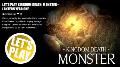 Let's Play Kingdom Death: Monster – Lantern Year One