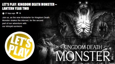 Let's Play Kingdom Death: Monster – Lantern Year Two