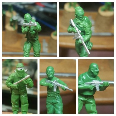 New Agents, Scenario Figures & Cartel Members