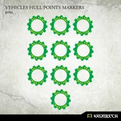 Vehicle Hull Point Markers Green