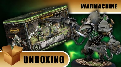 Warmachine Unboxing: Cryx Battlegroup Starter Set