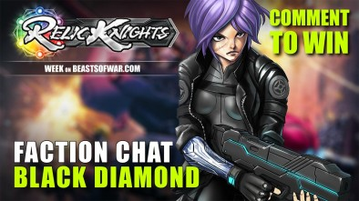 Relic Knights Week: Meet The Factions – Black Diamond