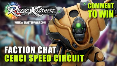 Relic Knights Week: Meet The Factions - Cerci Speed Circuit