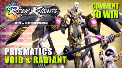 Relic Knights Week: Prismatics - The Mercs Of Relic Knights