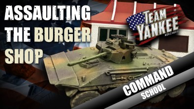 Team Yankee Command School: Assaulting The Burger Shop