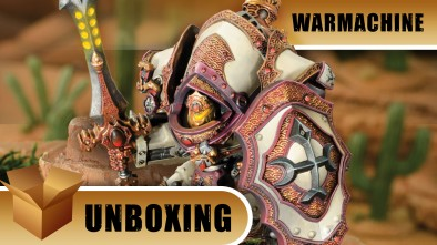 Warmachine Unboxing: Menoth Eye of Truth