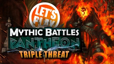 Let's Play: Mythic Battles Pantheon - Triple Threat