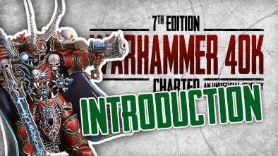 40k Charted: Introduction to 40k & What's the Story with 30k?