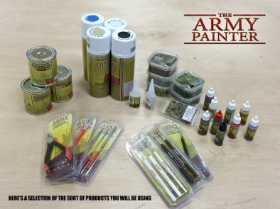 Beasts of War Hobby Weekend Army Painter Products Examples