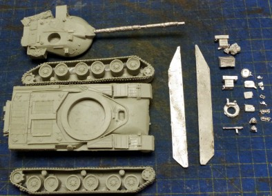 Chieftain Main Battle Tank (Components)