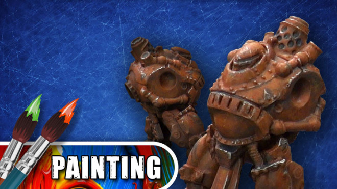 3 Colours Up: Painting Deep Rusted Armour