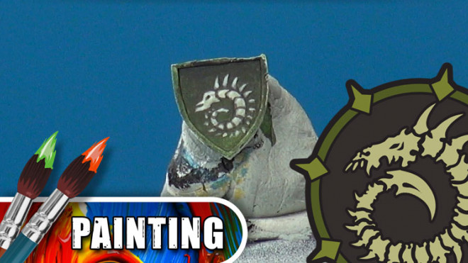 3 Colours Up: Painting Warmachine Emblems – Cryx