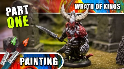 Wrath Of Kings Week: Painting The Longhorn - Part One
