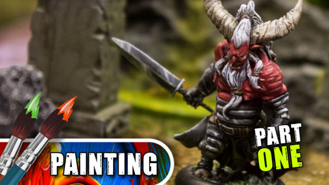 Wrath Of Kings Week: Painting The Longhorn – Part One